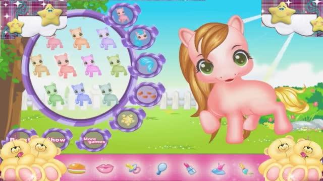 小马国女孩 彩虹小马当新娘彩虹小马照顾我的可爱小马