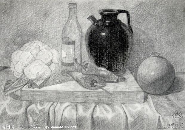 手绘线条图像物象立体的表达方法有什么?