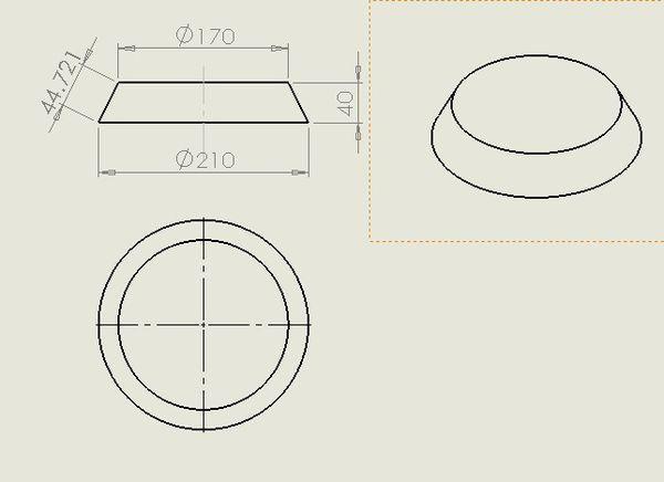 用CAD画一个别墅的平面图顶圆直径为1圆台cad本v别墅下载图片