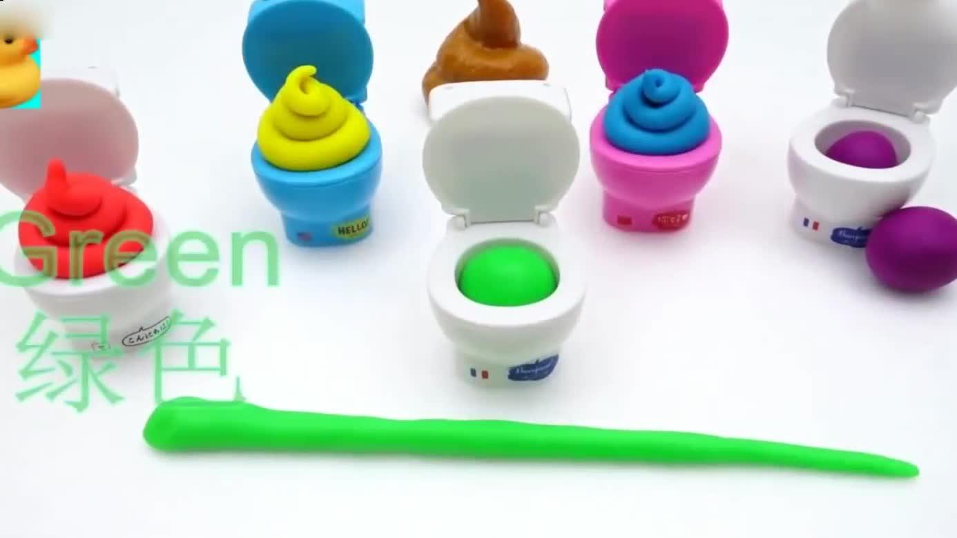 用橡皮泥制作指尖陀螺组装 小猪佩奇玩具早教 早教 益智 玩具 动-.