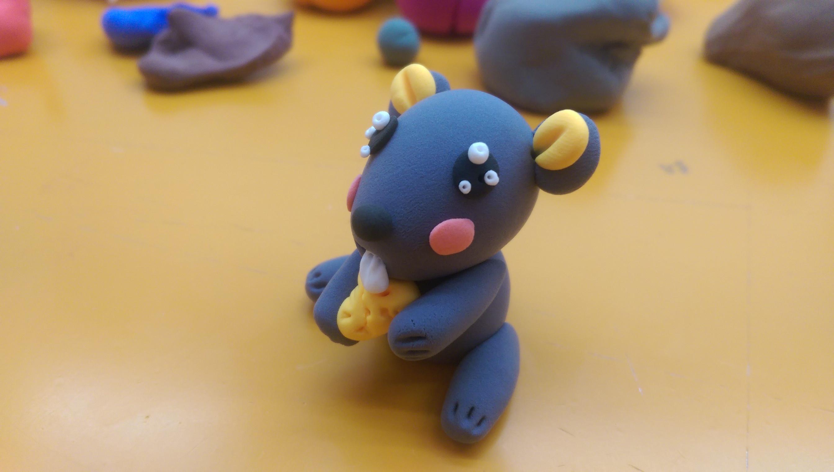 小神龙部落 超轻粘土diy 机灵鼠 亲子游戏 小马宝莉 猫和老鼠-快乐.