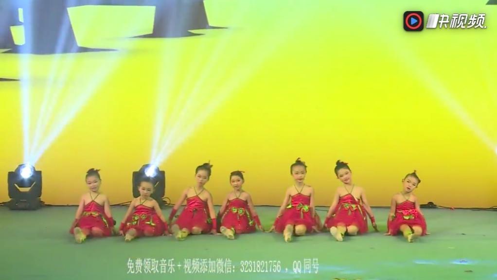 2018最新幼儿园男孩六一舞蹈《小脚丫》