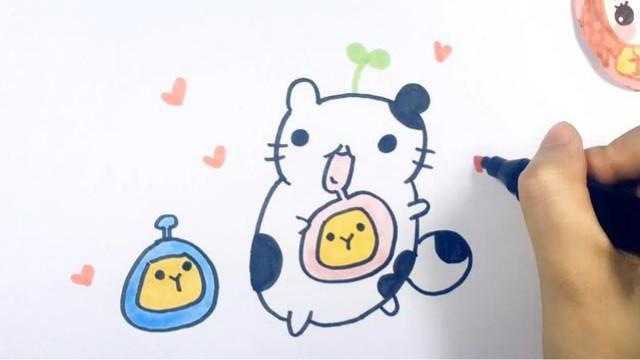 可乐姐姐学画画-可爱的猫咪