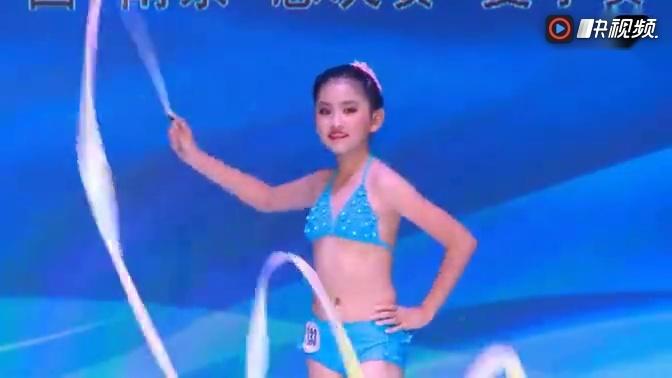 2015中国国际超级少儿模特大赛泳装秀