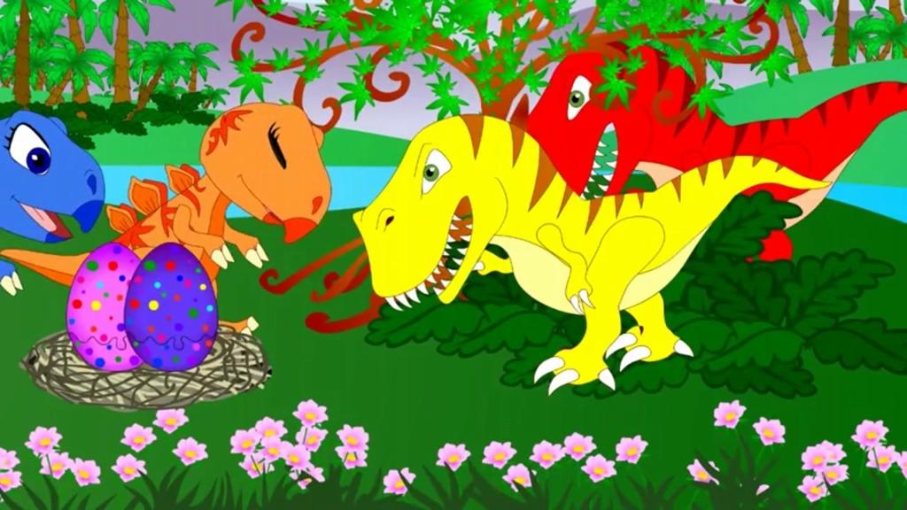 恐龙世界动画版 机智的偷蛋龙图片