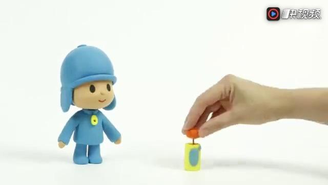 橡皮泥趣动画:做个可爱的迪士尼公主玩玩