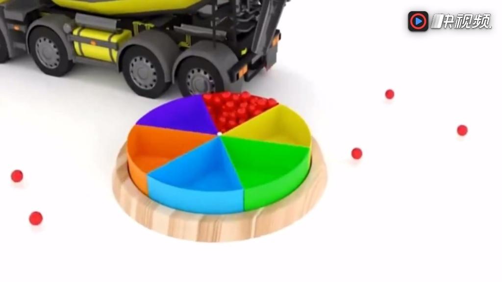 学习颜色培乐多彩泥手工制作视频切水果过家家视频