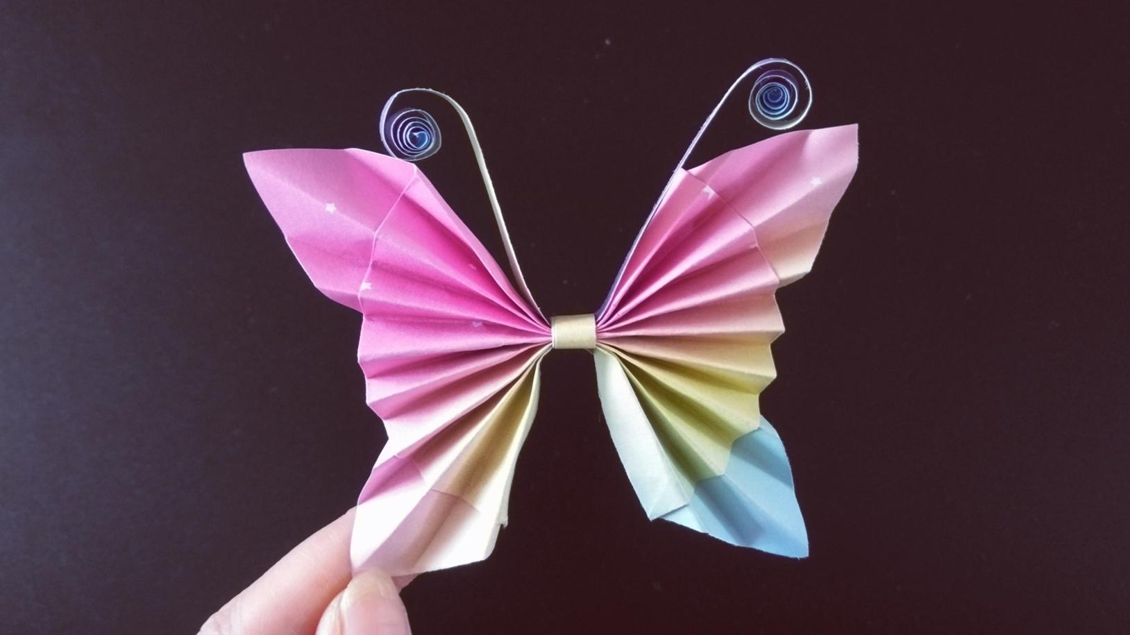 非常简单的 蝴蝶花冠折纸,据说幼儿园老师折不出这么好看的 360影视