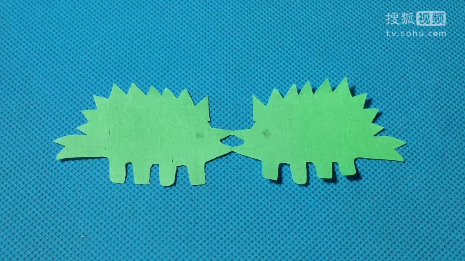 手工diy教学 剪纸恐龙剑龙 儿童剪纸教程大全 折纸王子 亲子游戏