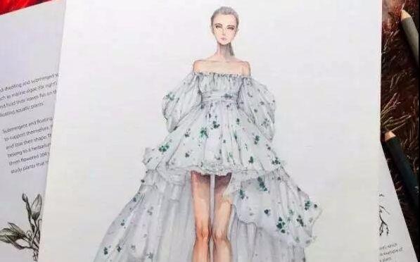 服装设计:标准的人体模特与