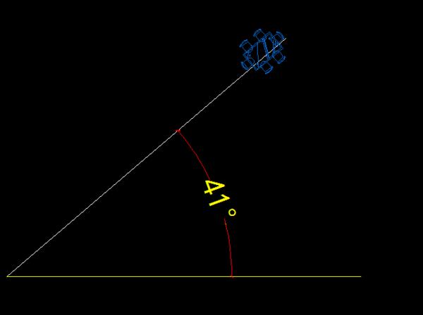 在CAD中使图块标注某条线的公差旋转?复制的cad角度按照带图片