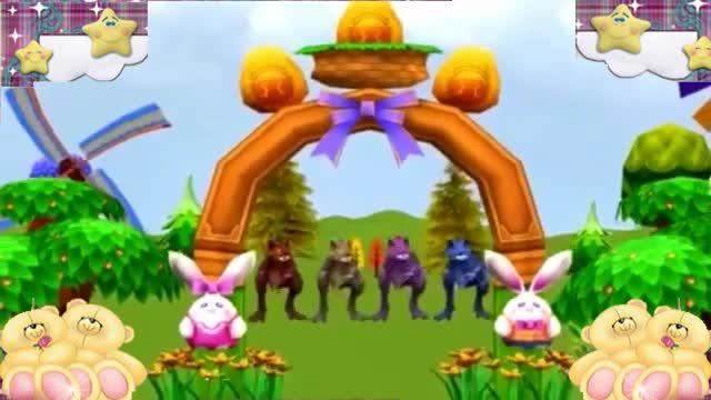 森林运动会酷玩之动物乐园动画玩具视频7