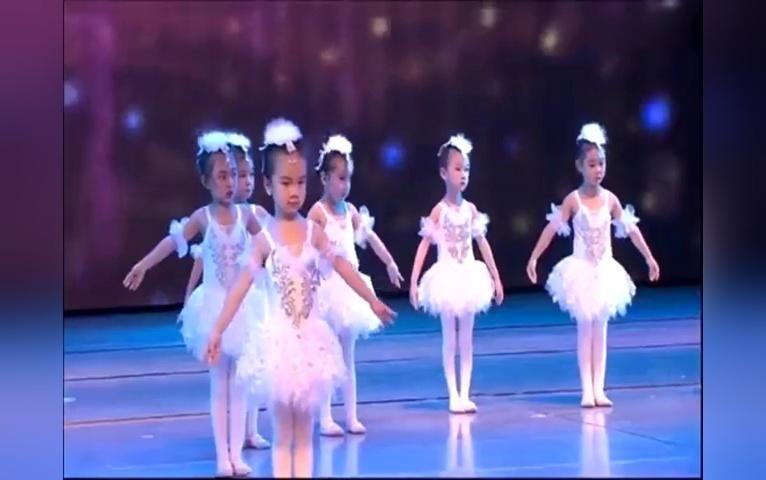 儿童舞蹈《小闺蜜》少儿芭蕾舞 元旦节舞蹈 幼儿新年舞蹈