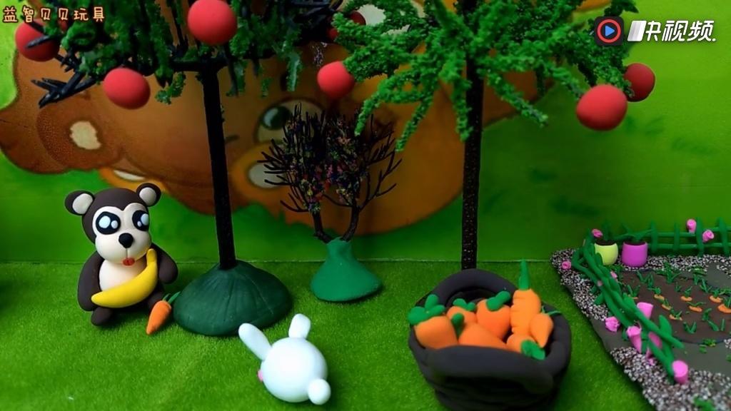 自私的小老鼠彩泥粘土故事 幼儿园手工 亲子故事 彩泥课堂
