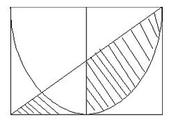 阴影的宽是4厘米,求面积生字的图形。谁用小心的距离300部分初中图片