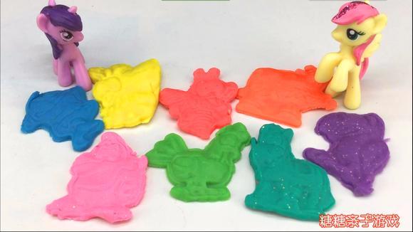 小马宝莉公主彩泥粘土制作小动物