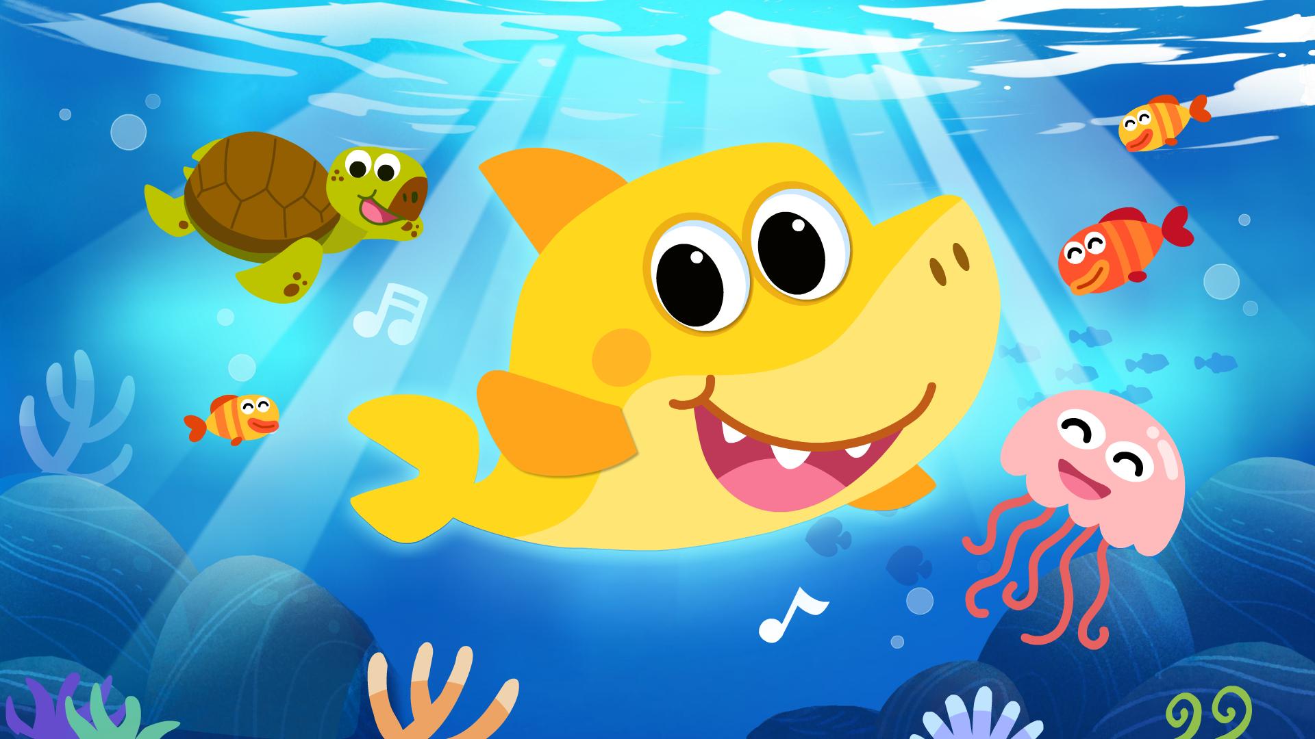 宝宝巴士之动物世界动画孤单的小鲨鱼交不到朋友,到底为什么?