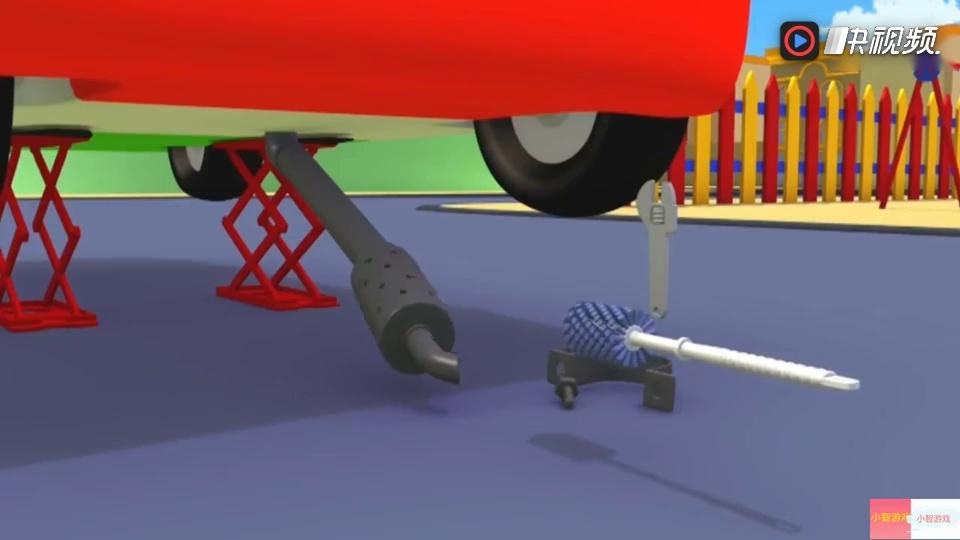 挖掘机视频表演大全动画 5汤姆拖车汽车城