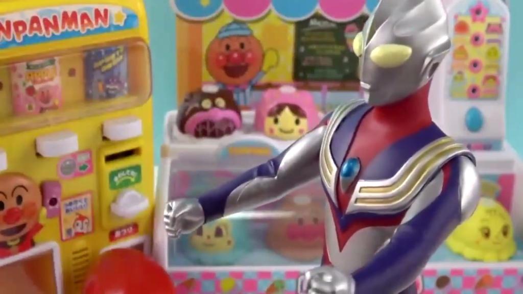 奥特曼玩具 迪迦奥特曼冰淇淋商店玩具