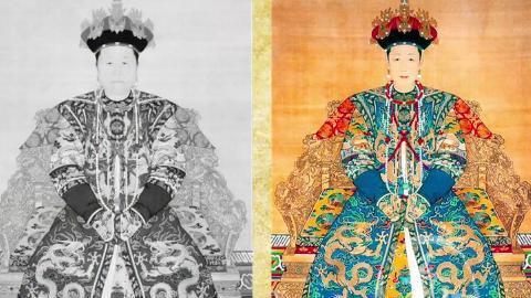 清朝后宫嫔妃等级制度 图片合集
