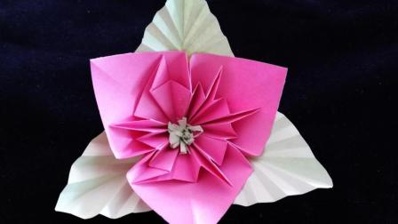折纸花康乃馨 折纸大全图解简单又漂亮 折纸的图解步骤手工创意diy