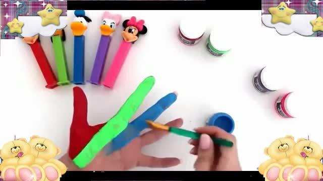 米克 米老鼠 唐老鸭 汪汪队 小马宝莉玩具视频 彩泥制作冰淇淋.