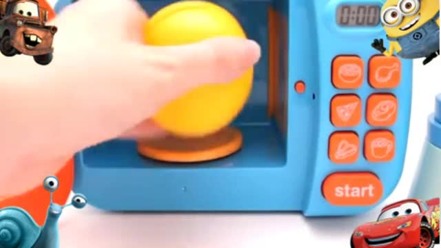 橡皮泥手工制作视频_切水果做果酱冰淇淋