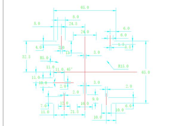 cad中转没有pdf间距线化为了啊?_360cad轮廓调整虚线图片