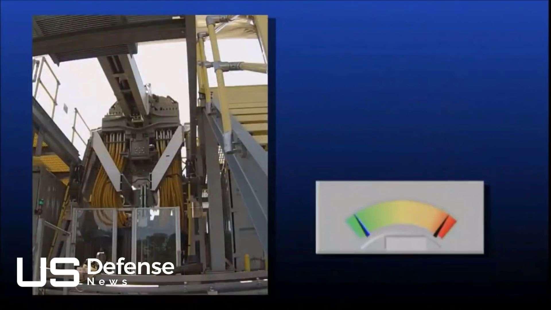 电磁轨道炮视频_近景实拍美国军方研制出《新世纪福音战士》概念武器电磁轨道炮