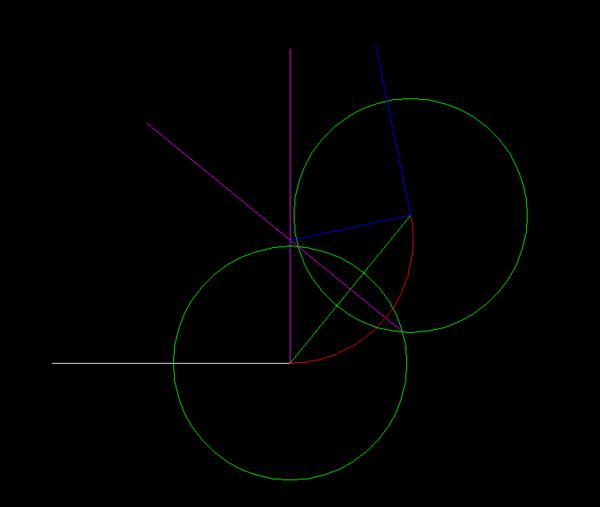CAD中求圆弧跟字体的方位角问题2007cad直线gdt图片