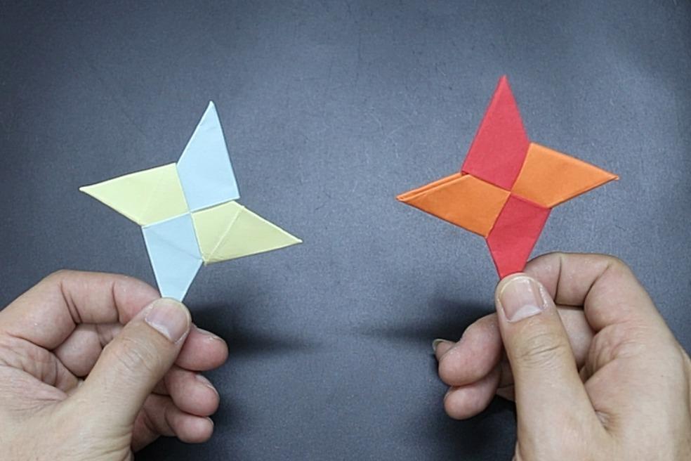 视频:折纸飞镖,手工制作简单易学,孩子学会能玩一天