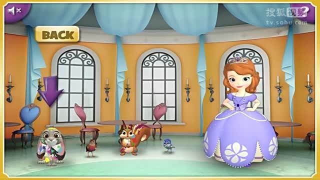 小公主苏菲亚动画主题索菲亚的绘画朋友