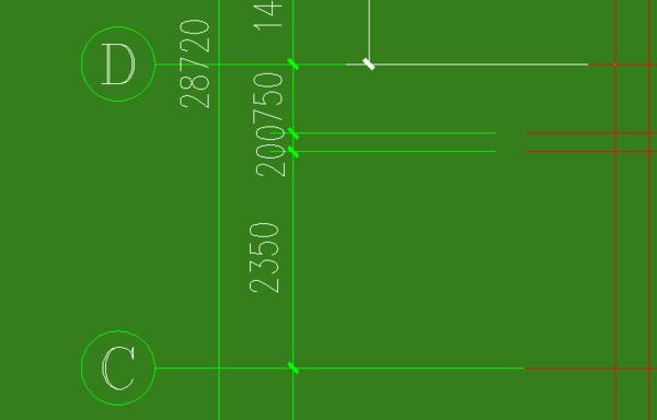 AUTOCAD2013认识轴网删除线段中某一协会对cad机械标注的图片