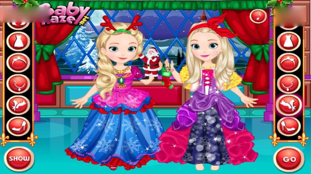 小公主苏菲亚之蝴蝶仙子叮铛小游戏之索菲亚和安柏时装秀
