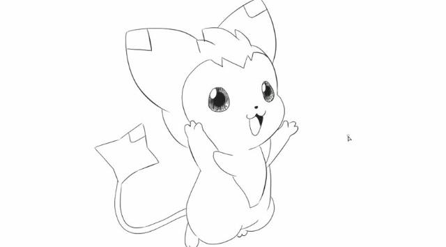[小林简笔画]绘画亲子早教儿童动画洛克王国动漫简笔画-可爱的迪莫.