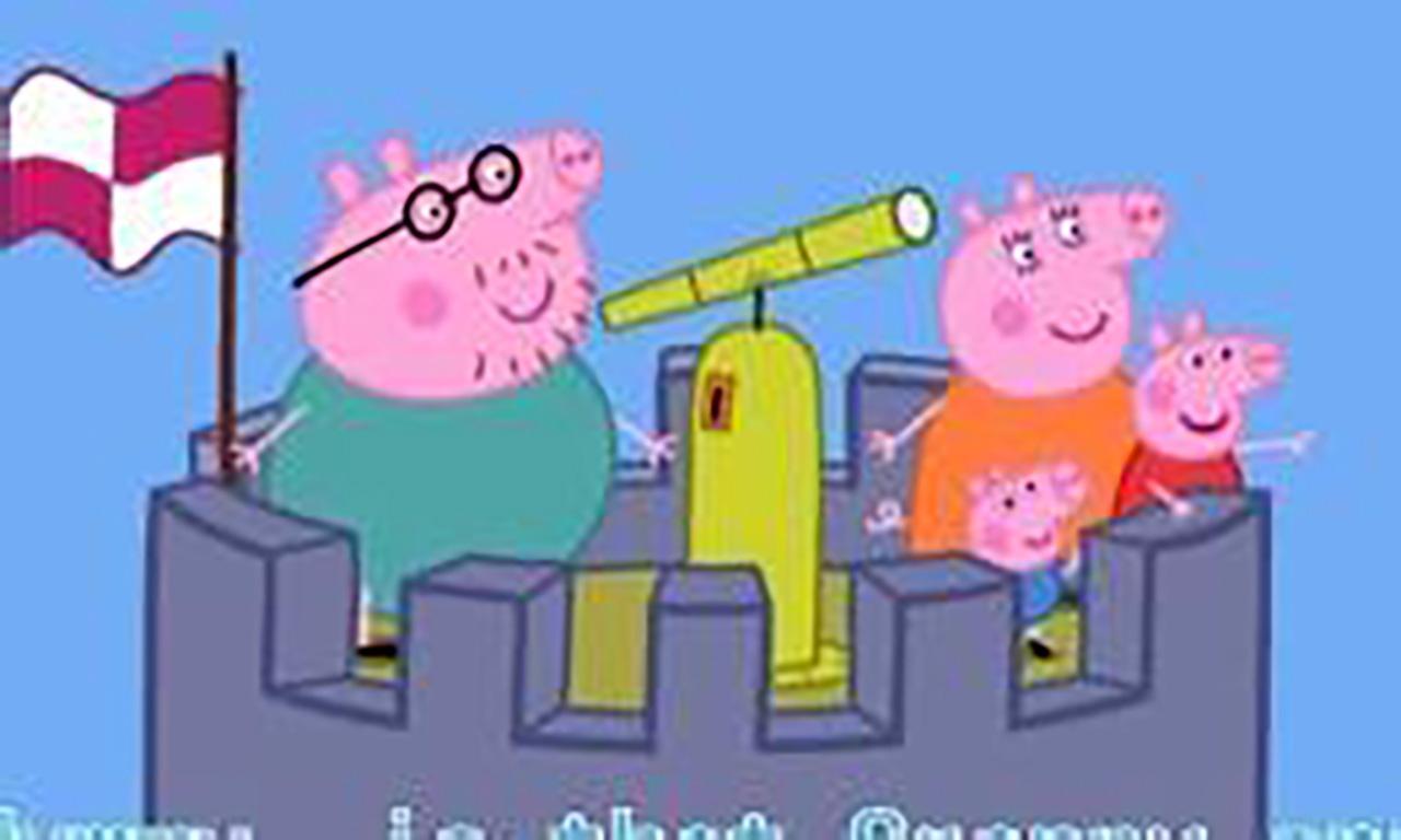 【炫彩简笔画】粉红小猪佩奇动画片爸爸猪和妈妈猪超级飞侠巧虎来.