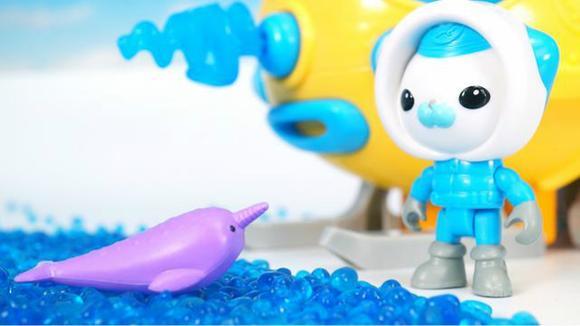 动画极地探险车海底小纵队拯救独角鲸