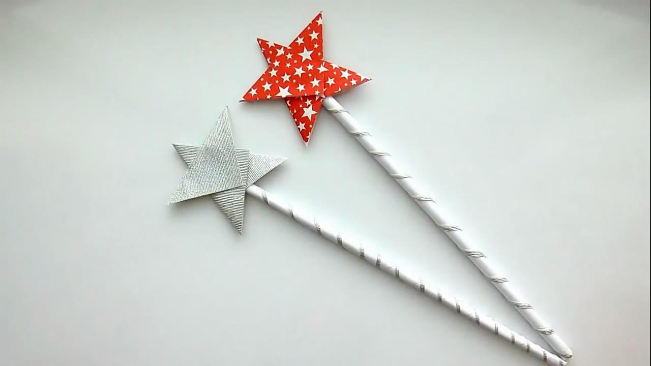 巴啦啦小魔仙的魔法棒制作教学视频 创意diy 神奇的手工制作
