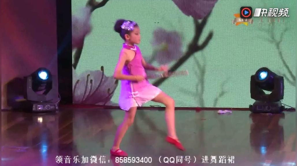 2018最新幼儿舞蹈幼儿园中班舞蹈双人舞《笛中花》星耀杯少儿舞蹈大赛
