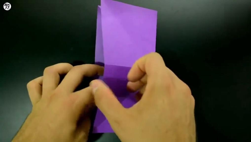教你怎么折千纸鹤,手工折纸教学
