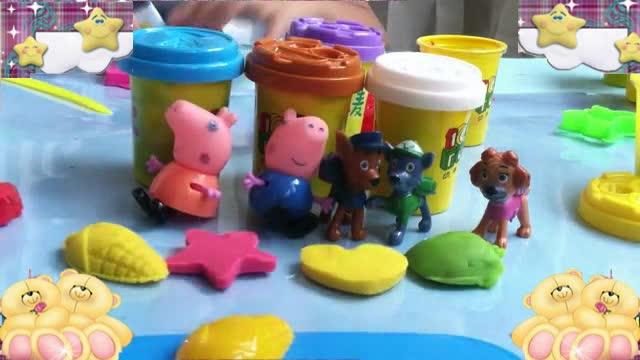 汪汪队立大功玩具2 橡皮泥动画手工制作视频76