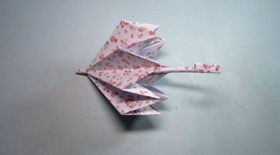 手工折纸小花伞,创意diy手工制作简单又漂亮的小雨伞