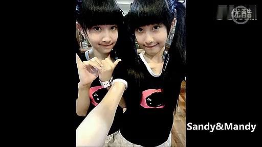 台湾纯双胞胎姐妹花跳舞mv
