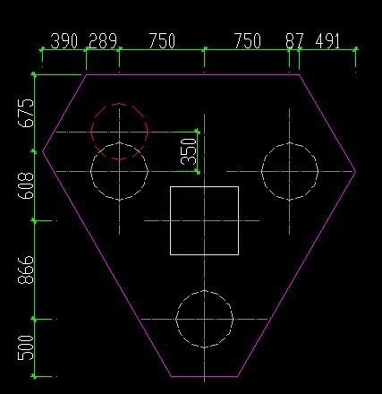 桩基础v图纸平面图,做,谁有给我一份图纸cad工地看怎么图片