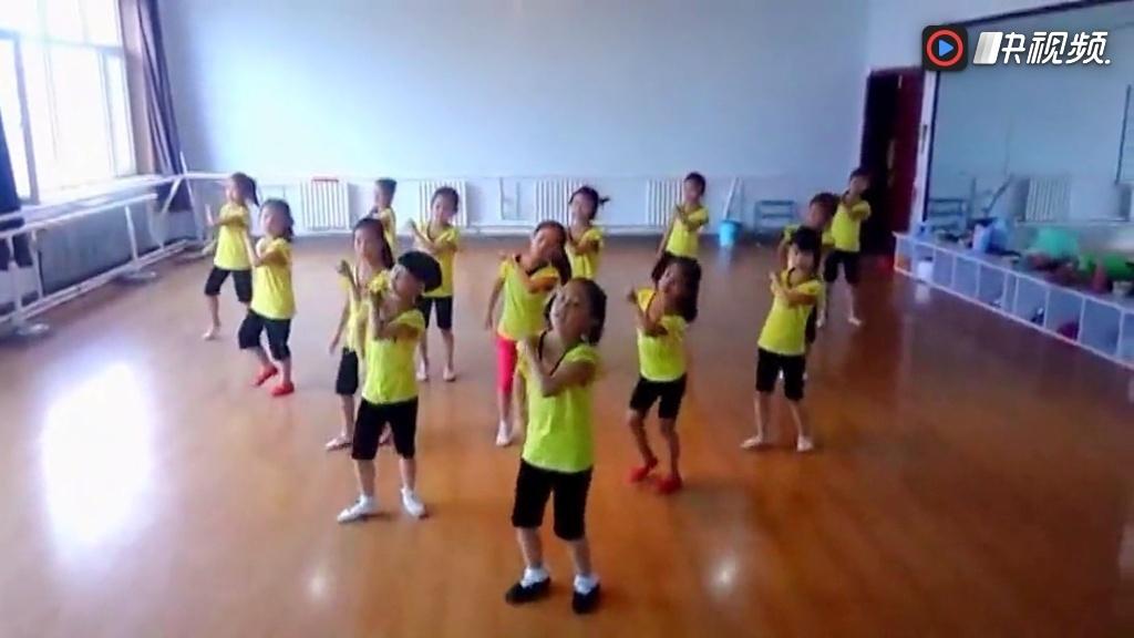幼儿舞蹈视频大全最新少儿儿童舞蹈小苹果广场舞教学