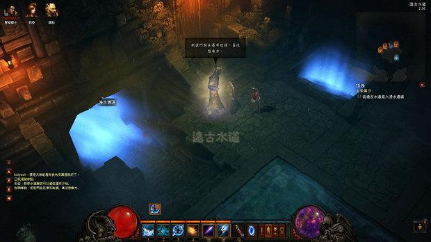 暗黑3第二章黄沙水手之血染图文和黑灵魂石大力攻略通关游戏视频图片