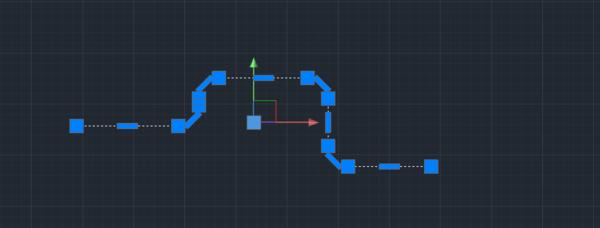 CAD里把相连的圆弧窗台连接成多段线?cad怎么线段中板画图片