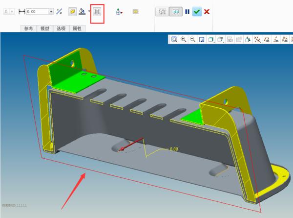 proe5.0装配图中做一个图纸的剖视图,计算不是零件中差图片