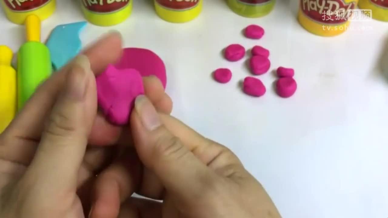 培乐多彩泥手工制作大螃蟹-儿童早教动画玩具(二)-生活是条毛毛虫