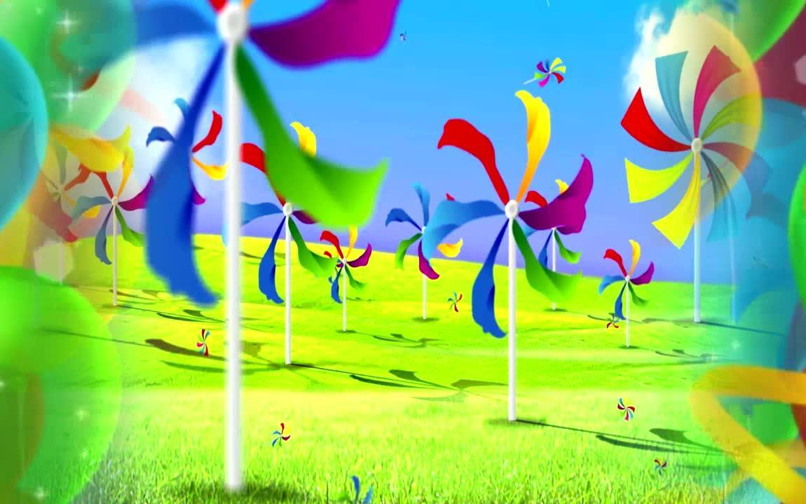 幼儿园毕业歌 小朋友幼儿园汇演舞蹈舞台led大屏幕背景视频素材图片